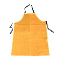 Safurance Welders Leather Welding Cutting Bib Shop Apron Heat Resistant ClothU_X