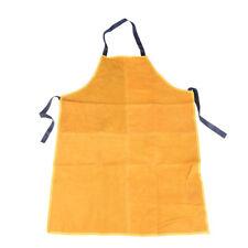Safurance Welder Leather Welding Cutting Bib Shop Apron Heat Resistant Clothgf