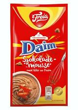 Freia Norwegian Chocolate Mousse w. Bits of Daim Toffee / Caramel 100g