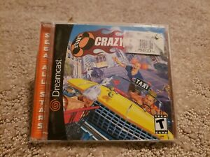 Crazy Taxi (Sega Dreamcast, 2000) - Tested and working - Complete with Manual