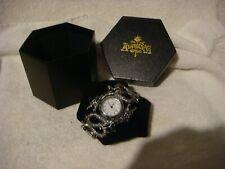 Alchemy Gothic dragon watch  in pewter Imperial Dragon