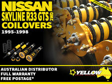 YELLOW-SPEED RACING COILOVERS Nissan Skyline R33 GTS 95-98 2WD  yellowspeed coil