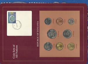 Coin Sets of All Nations Tanzania UNC 1981-1993 20 Shilingi 1992
