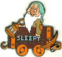 Disney Pin 7751 DS 100 Years of Dreams #46 Sleepy 1937 Snow White Mining Cart