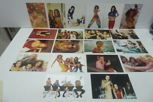 COLLECTION OF 20 SPICE GIRL PHOTO CARDS PHOTOGRAPHS PUBLICITY SHOTS