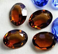 2 x cristallo swarovski vintage Unfoiled OVALE 4100 STONE 18 mm x 13mm affumicato topazio