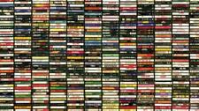CASSETTES - Hundreds To Choose From - $2.00 Each - Free Shipping On Orders $10+