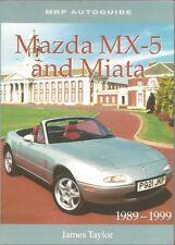 MAZDA MX-5 & MIATA MK1 MK2 CONVERTIBLE 1989-99 DESIGN & DEVELOPMENT HISTORY BOOK