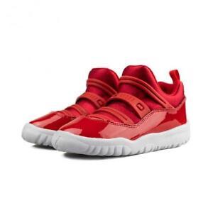 Air Jordan 11 Retro Little Flex TD Gym Red BQ7102 623 Toddler's Size 3c NEW WB