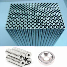 1/5/100Pcs Ring Rare Earth Neodymium N52/N35/N50 Super Strong Magnets with Hole