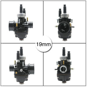 2 Stroke 19mm Dellorto PHBG DS Racing Carburetor Carb For Scooter Motorcycle