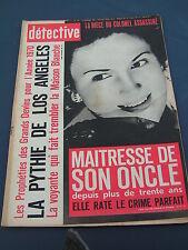 Détective 1969 1221 LA BRESSE LAVARé NEUHOF STRASBOURG André BETTENCOURT