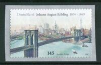 Bund 2546 Selbstklebend postfrisch auf Folienstreifen Brooklyn Bridge BRD SK MNH