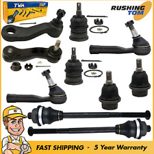 10Pc Front Inner Outer Tie Rod Ball Joint Suspension Kit for Chevy Chevy GMC