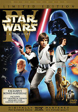 STAR WARS IV 4 A New Hope (DVD 2-Disc LIMITED Edition ORIGINAL) BRAND NEW SEALED