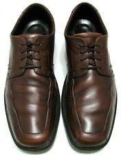 EXCELLENT  Ecco Mens Shoes  Brown Soft Leather Dress Casual EU 47 US 13-13.5