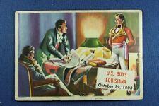 1954 Topps Scoop - #148 U.S. Buys Louisana  - Good Condition