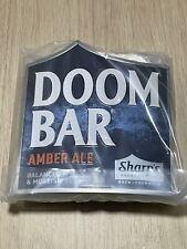 NEW METAL Sharp's Doom Bar Amber Ale Pump Clip - Free P&P In Original Packaging