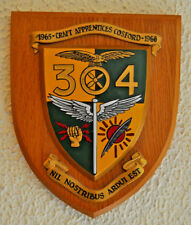 304 Craft Apprentice ENTRY Royal Air Force Cosford PLACCA Shield RAF 1965 304th