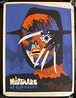 A Nightmare On Elm Street Movie Poster Mondo Art Freddy Krueger Halloween Horror