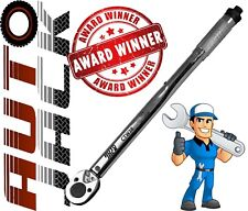 "3/8"" Square Drive Ratchet Torque Wrench Calibrated Tool 19 - 110 Nm with Case"
