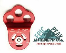 Epic Peak 30KN Triple Attachment Climbing Hitch Pulley for 13mm Rope