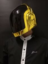 DAFT PUNK HELMET Shine Gold REPLICA Guy Manuel DJ Party Wearable Free Ship to US