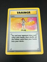 Lass 75/102 RARE Base Set SHADOWLESS Trainer Pokemon 1999 WOTC NM