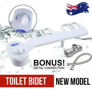 Hygiene Water Wash Clean Unisex Easy Toilet Bidet / Seat Attachment Upgrade AU