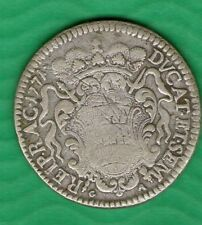 TALIR CROATIA DUBROVNIK 1771   -  - BOX  0015 -  BIG SILVER  COIN    SCARE