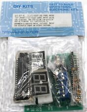 3 12 Digit Led Panel Meter Kit Requires Assembly