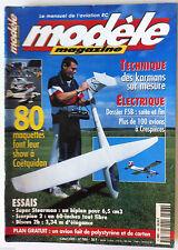 Modèle Magazine n°586 du 7/2000; Scorpion 2/ Discus 2b 3,34 m d'élégance