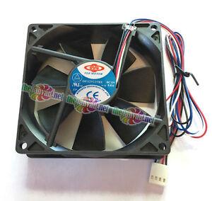 Top Motor DF129925BU-PWM 4 Pin PWM Case Fan/CPU Fan 92mm x 25mm w/ Screws New!