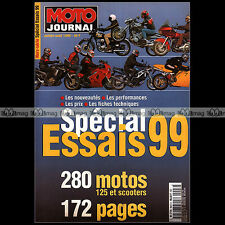 MOTO JOURNAL HS 9907 HORS-SERIE ★ SPECIAL ESSAIS ★ 280 Modèles - Edition 1999