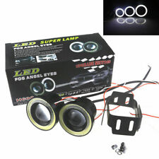 2.5 inch 30W White Fog LED Light Red Ring SUV COB Halo Driving DRL Projector Len