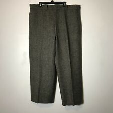 Vintage Ll Bean Charcoal Gray Wool Hunting Pants Size 46