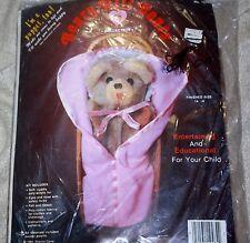 Beary Hill Bears baby bear puppet kit sealed