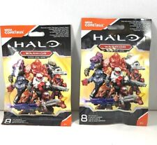 Halo Mega Construx Warrior Series Lot of 2 New Condition