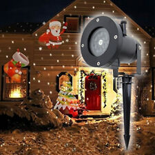 Christmas LED Lights Moving Laser Projector Landscape Santa Pattern Lamp Outdoor