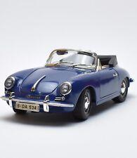 Bburago 3051 Porsche 356 B Cabriolet Bj.1961 in blau lackiert, OVP, 1:18, K025