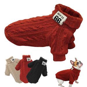 Pull sweat molletonné chaud pour petit chien ou chat Vêtement manteau Chihuahua