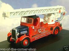 OXFORD 1/76 1938 LEYLAND TLM CLOSED CAB FIRE ENGINE MORECAMBE & HEYSHAM 76TLM007