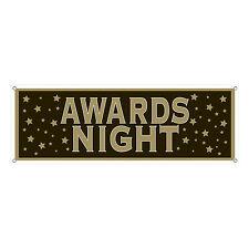 Hollywood AWARDS NIGHT Hanging SIGN BANNER Party Decoration OSCARS Ceremony