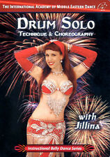 Drum Solo with Jillina DVD - Learn Belly Dance Video