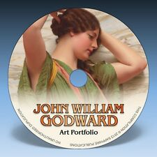 JOHN GODWARD ART PORTFOLIO - Over 135 Hi-Res Neo-Classic Paintings on DVD!