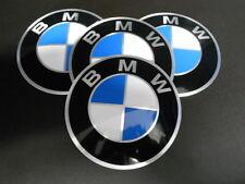 BMW 4x Adesivo Stemma Placca 82mm Cerchione Disco Della Ruota Nuovo