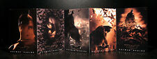 DC: BATMAN MOVIE POSTCARDS set (5 pcs), original - RARE