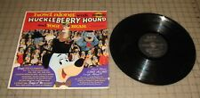 "1959 HUCKLEBERRY HOUND & Yogi 33rpm Record 12"" - Golden Records - Hanna-Barbera"