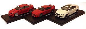 Lumma CLR500, Lumma CLR750, Koenig KS8 RENN Miniatures 1/43 SALE!!!