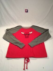 Fanatics Chicago Bulls Sweater Womens sz Medium
